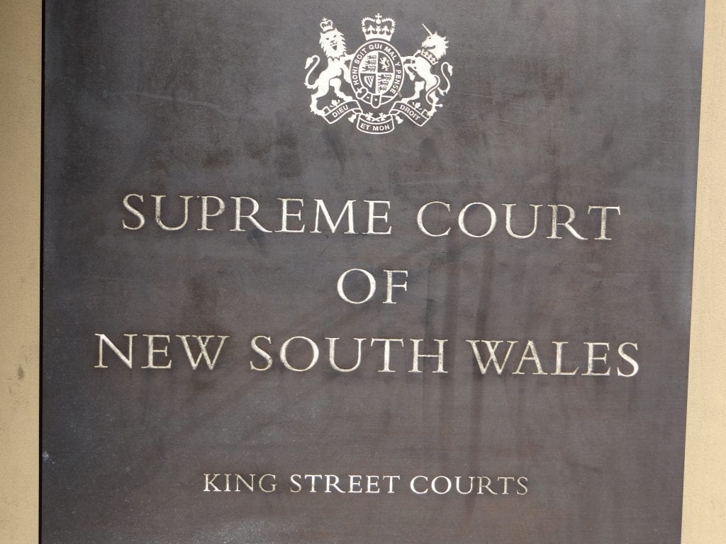 Supreme Court of NSW Stage 2